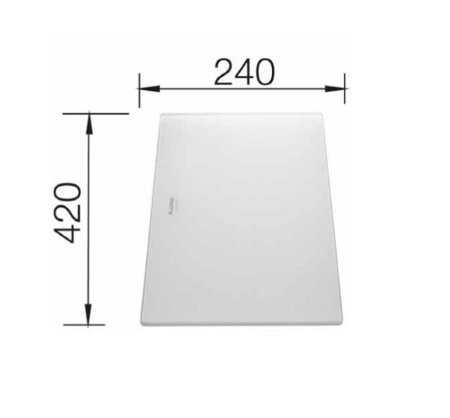 Blanco 225333 Universeel Glassnijplank