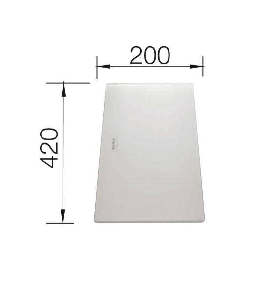 Blanco 225335 Universeel Glassnijplank